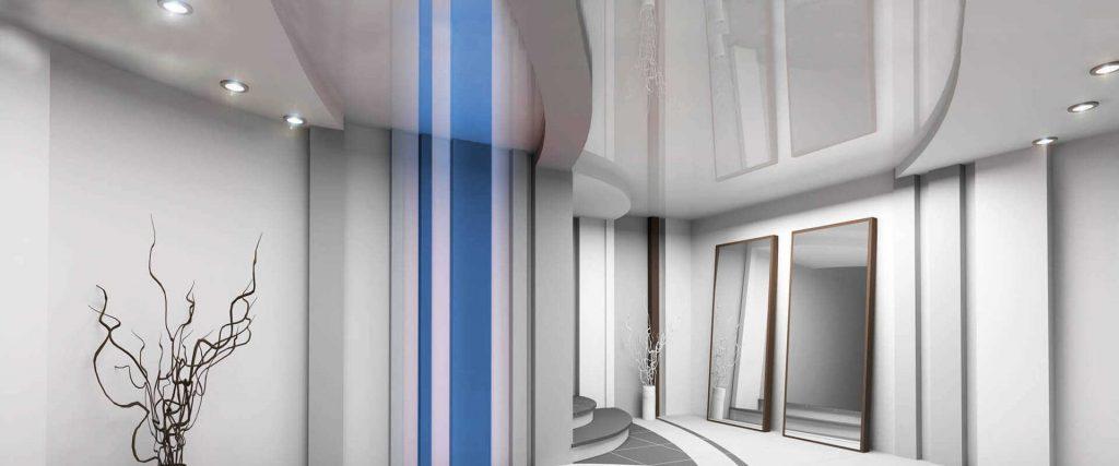 глянцевый натяжной потолок кривой рог и его приимущества