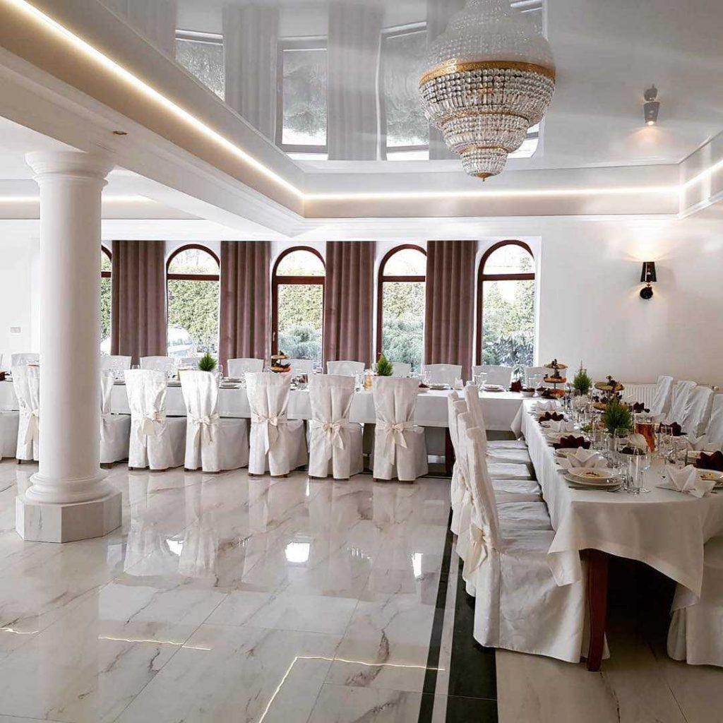 натяжные потолки кривой рог фото ресторан