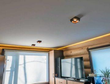 Тканевые натяжные потолки: достоинства и недостатки