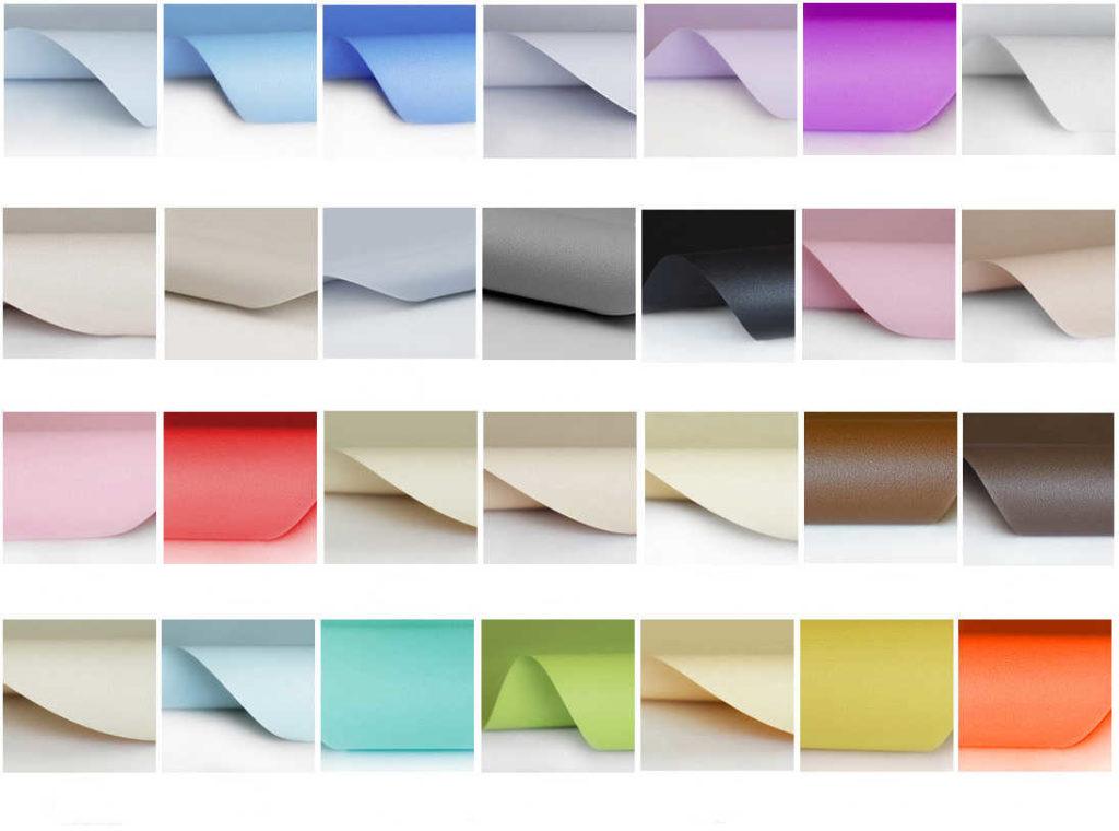 палитра цветов сатиновые натяжные потолки кривой рог фото